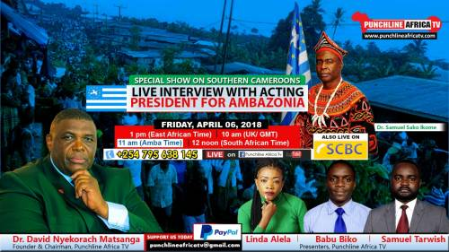 Special Punchline Africa edition with AP Dr. Samuel Sako
