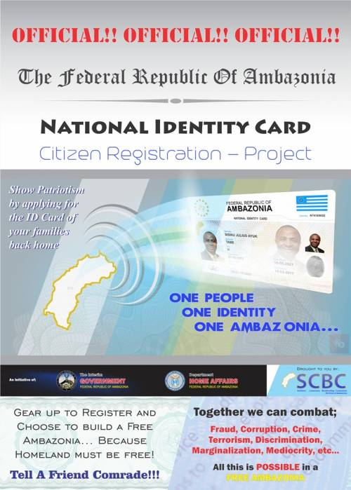 National Identity Card: Citizen Registration Project