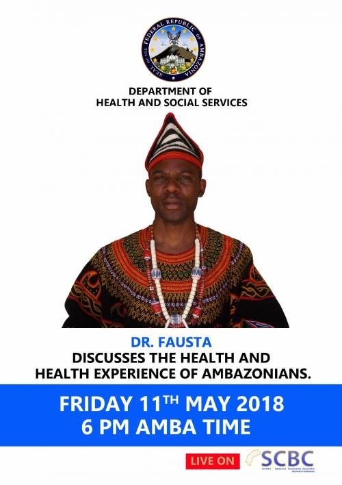 Dr. Fausta discuss the health and health experience of Ambazonians
