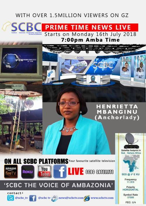 First SCBC Prime Time News