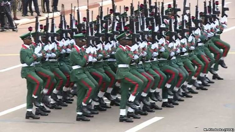 In Cameroon Students Forced to Celebrate Biya's Day As Nigeria Soldiers Parade For Him